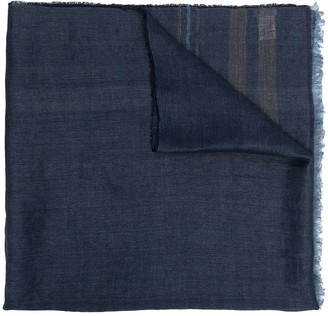 Brunello Cucinelli Lightweight Frayed-Edge Scarf