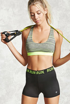 Forever 21 FOREVER 21+ Active Run Graphic Shorts