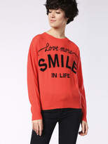 Diesel Sweaters 0JAJJ - Orange - L