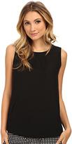 Armani Jeans Sleeveless Pocket Blouse Women's Blouse