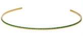 Susan Foster 18K Gold Emerald Necklace