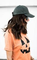 Ily Couture Perforated Baseball Hat - Forrest Green