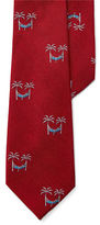Lauren Green Palm Tree Silk Tie