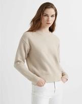 Club Monaco Tri-Color Stitch Sweater