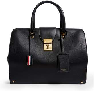Thom Browne Grained Leather Holdall