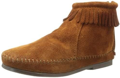 Minnetonka Back Zipper Boot (Toddler/Little Kid/Big Kid)
