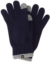 Haggar Men's Two-Tone Heathered Touch Tech Gloves