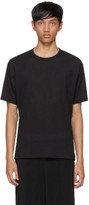 Issey Miyake Black Crepe T-shirt