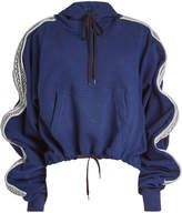 Y/Project Ruffled Cotton Hoodie
