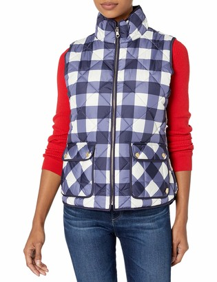 U.S. Polo Assn. Women's Buffalo Plaid Vest