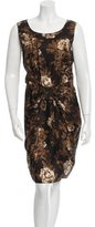 Moschino Cheap & Chic Moschino Cheap and Chic Floral Print Sheath Dress