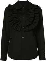 Comme des Garcons ruffled shirt - women - Cotton - L