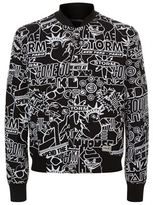Kenzo Graphic Print Bomber Jacket