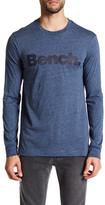 Bench Marled Logo Long Sleeve Tee