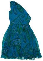 Christian Dior Printed Silk Dress