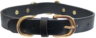 Dogs Of Glamour Stacy Luxury Black Collar - Medium