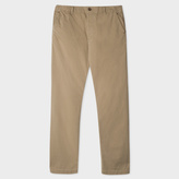 Paul Smith Men's Washed Khaki Red Ear Chinos