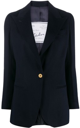 Giuliva Heritage Collection Long-Sleeved Cashmere Blazer