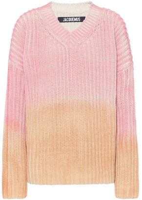 Jacquemus Le Pull Soleil cotton sweater