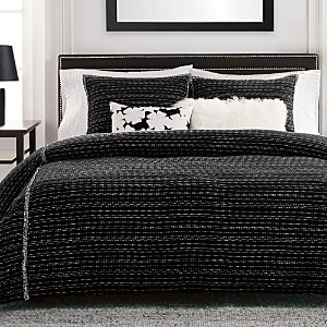 Karl Lagerfeld Paris Tweed Classique Comforter Set, King