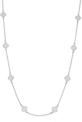 Lauren Conrad Long Filigree Station Necklace