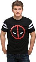 Hybrid Deadpool Varsity T-Shirt - 2X