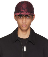 Dolce & Gabbana Red and Black Brocade Cap