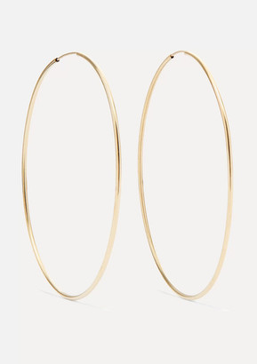 Loren Stewart - Infinity Gold Hoop Earrings