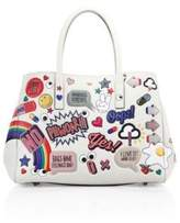 Anya Hindmarch Ebury Leather Sticker Satchel