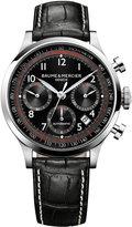 Baume & Mercier Men's Swiss Automatic Chronograph Capeland Black Alligator Leather Strap Watch 44mm M0A10084