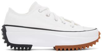 Converse White Run Star Hike Low Sneakers