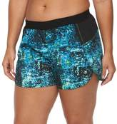Champion Plus Size Sport 5 Printed Woven Shorts