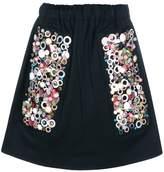 Prada embellished a-line skirt