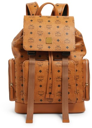 MCM Medium Visetos Brandenburg Backpack