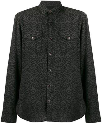John Varvatos Leopard Print Shirt