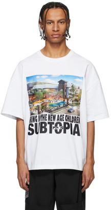 Perks And Mini White Oversized Spotless T-Shirt