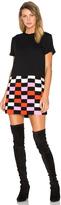 McQ by Alexander McQueen Crochet Block Dress
