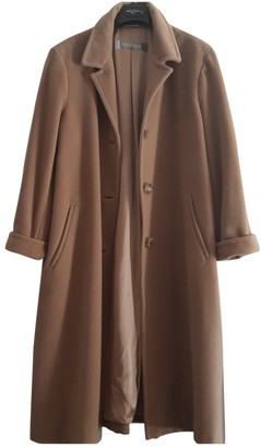Max Mara Camel Wool Coat for Women