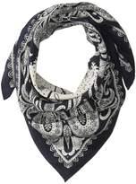 Polo Ralph Lauren Washed Silk Bandana Scarf Scarves