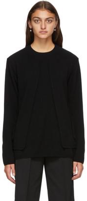 Comme des Garçons Homme Plus Black Wool Sweater