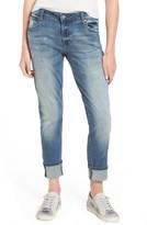 BP Women's Studded Straight Leg Jeans