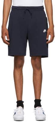 Nike Navy Tech Fleece Shorts