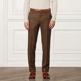 Ralph Lauren Purple Label Textured Wool-Blend Trouser