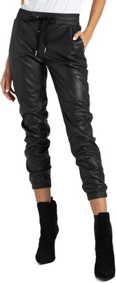 n:philanthropy Scarlett Faux Leather Jogger Pants