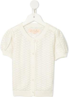 Tutu Du Monde Faye crochet cotton cardigan