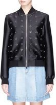 Stella McCartney 'Elgin' ring embellished bomber jacket