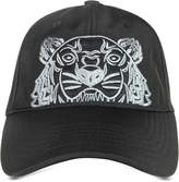 Kenzo Black Canvas Tiger Baseball Cap