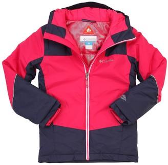 Columbia Hooded Nylon Ski Jacket