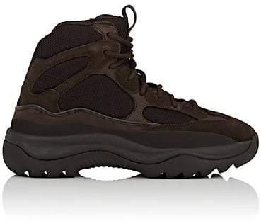 Yeezy Men's Mixed-Material Boots - Dk. brown