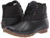 Sperry Saltwater 2-Eye Leather (Black) Women's Rain Boots